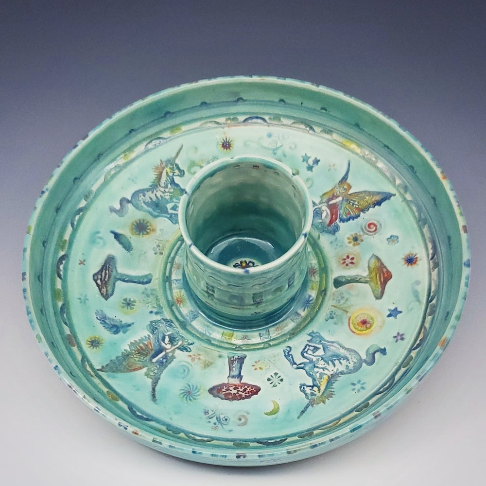 Image of Fairy Pond Porcelain Dish