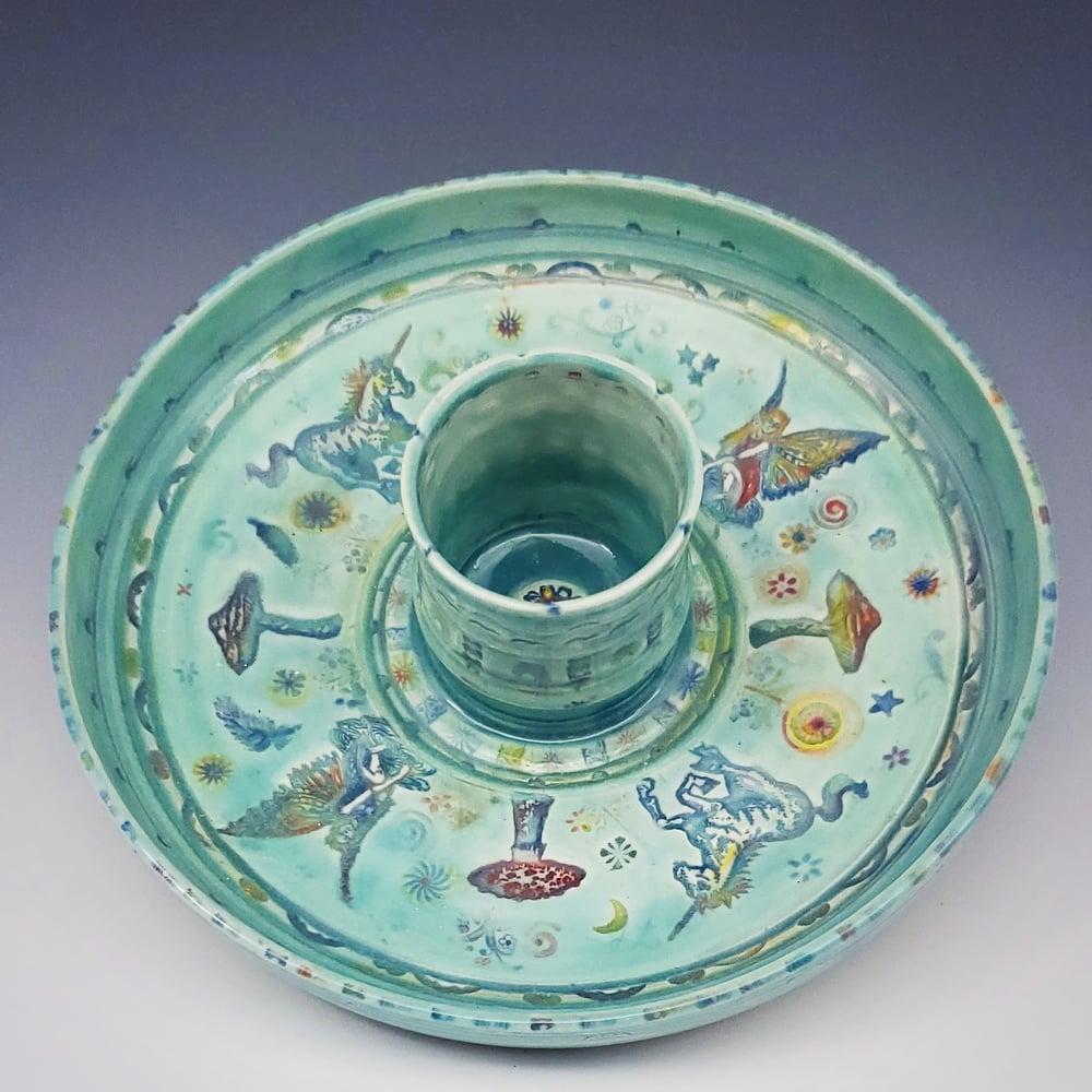 Image of Fairy Pond Porcelain Dish
