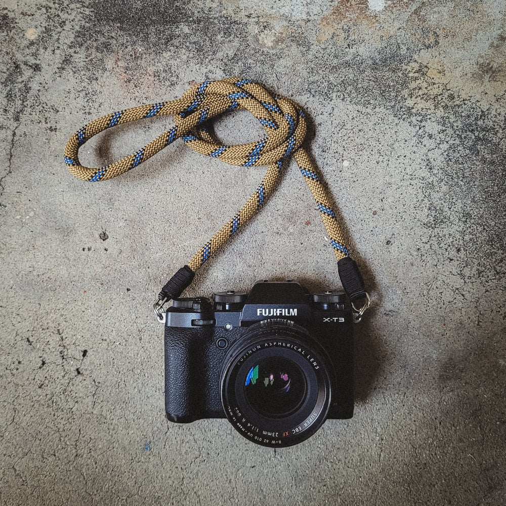 Image of Coyote mix rope shoulder strap w/ split ring attachments