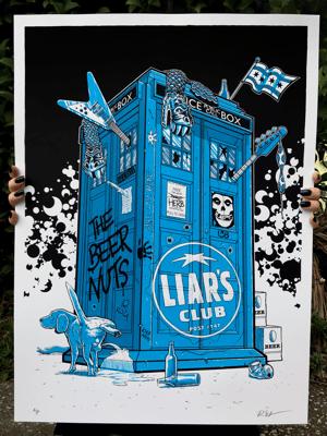 Liar's Club Re-Tardis - Artist Proofs