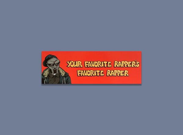 Image of MF DOOM bookmarks