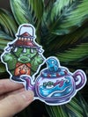 A Wizards Gift - Stickers