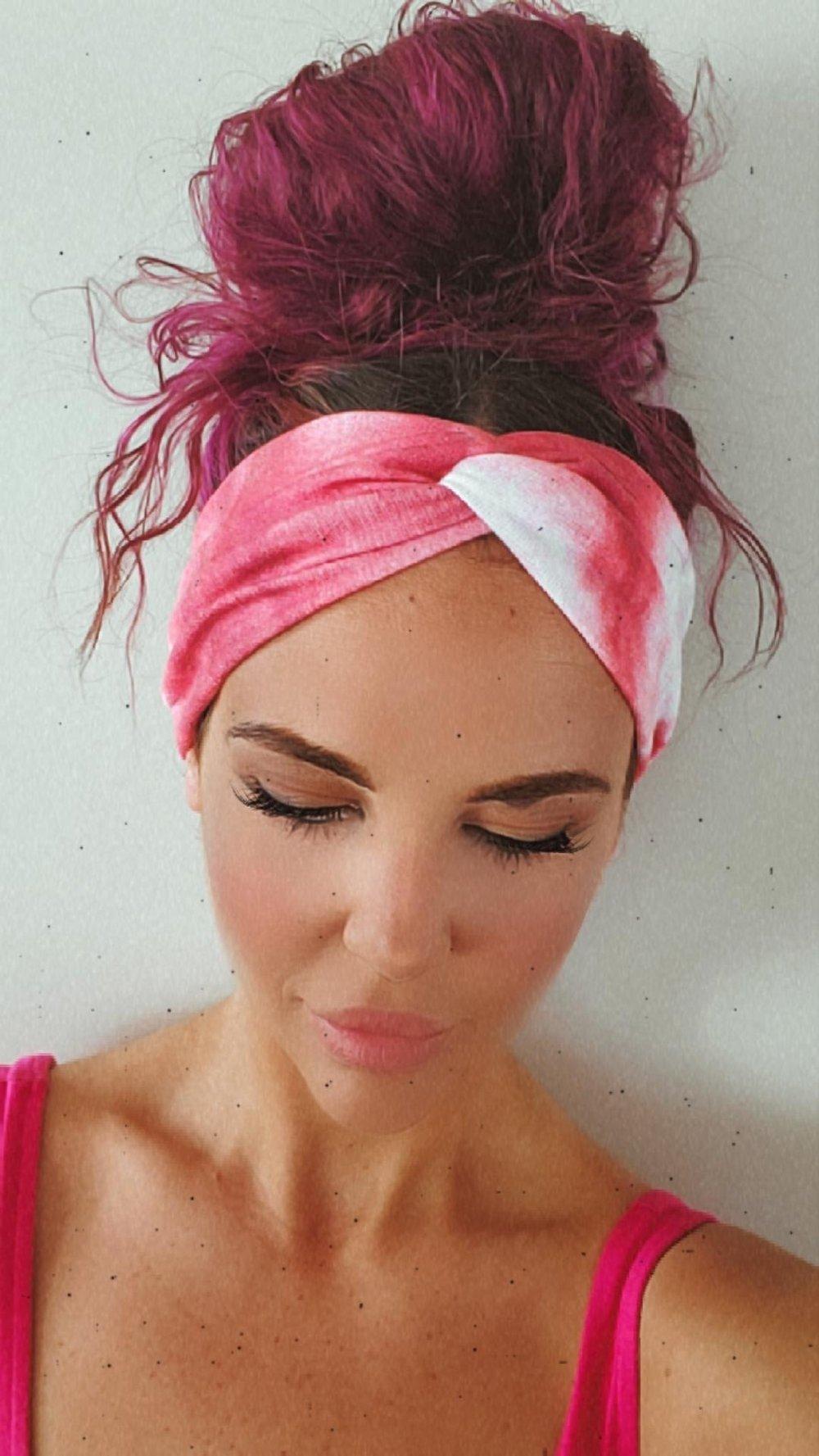 Image of Red moon headband