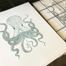 Image 1 of Octopus Green edition Screen print
