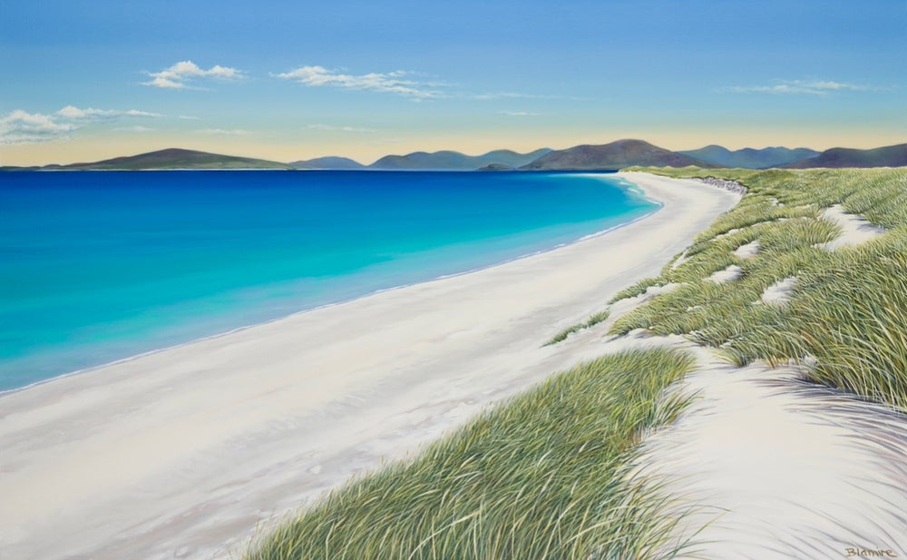 Image of Berneray bliss giclee print