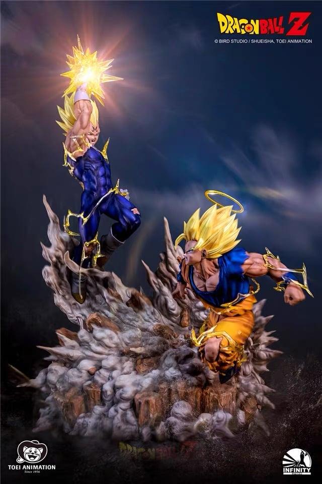 Image of [Back-Order][Last-Stock]Dragon Ball Z Infinity Studio Goku VS Vegeta 1:6 Resin Statue