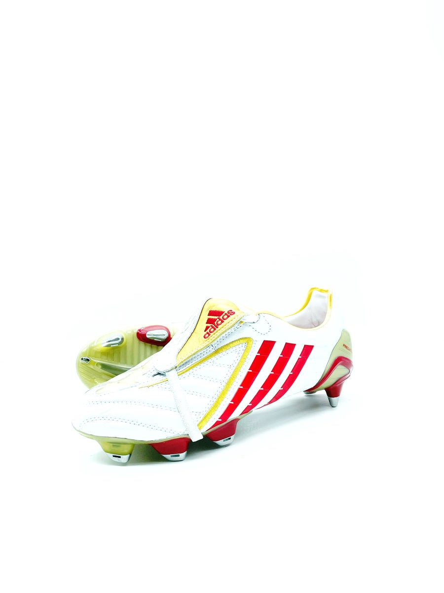 Image of Adidas Predator Powerswerve SG white red