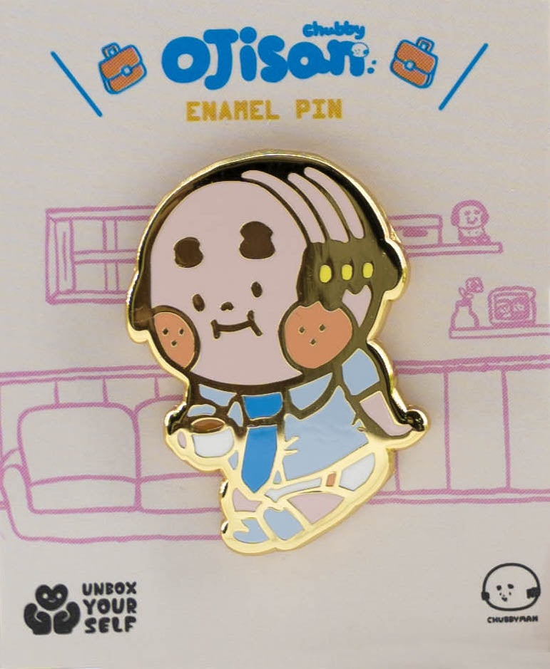 Image of CHUBBY OJISAN PIN SET 'B' BY AMBER