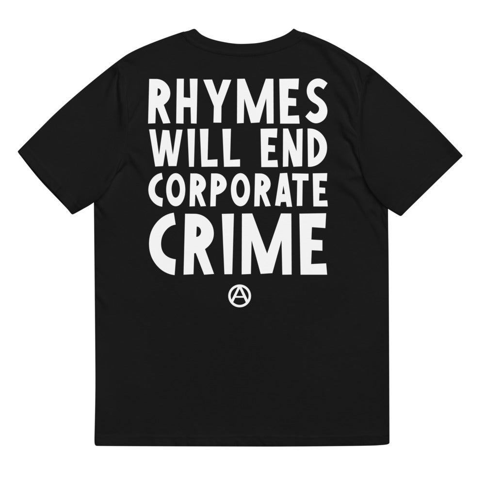 Rhymes will end corporate crime