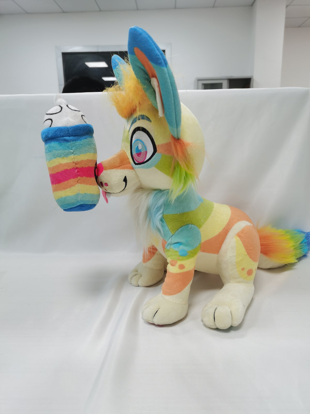 Image of Bliss the Coyote Fandom Plush PREORDER