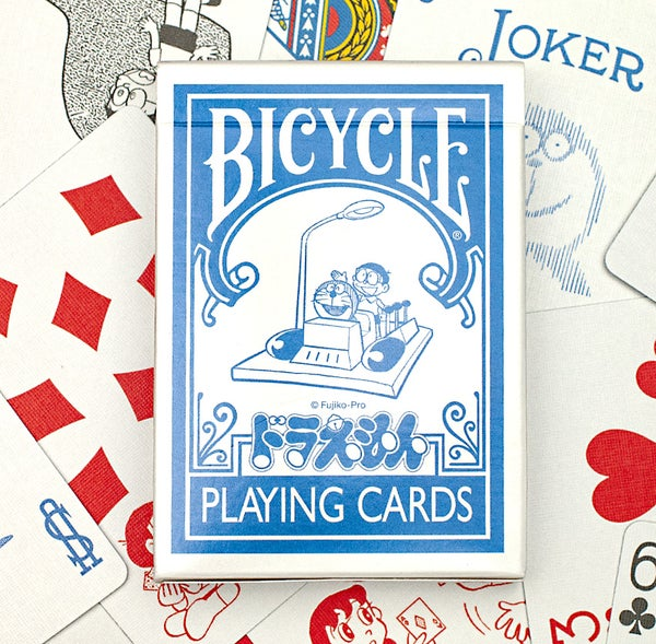 Image of DORAEMON BICYCLE PLAYING CARDS