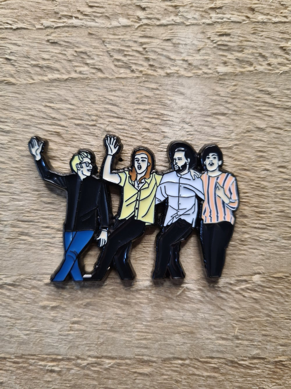 One Direction - History Pin Badge