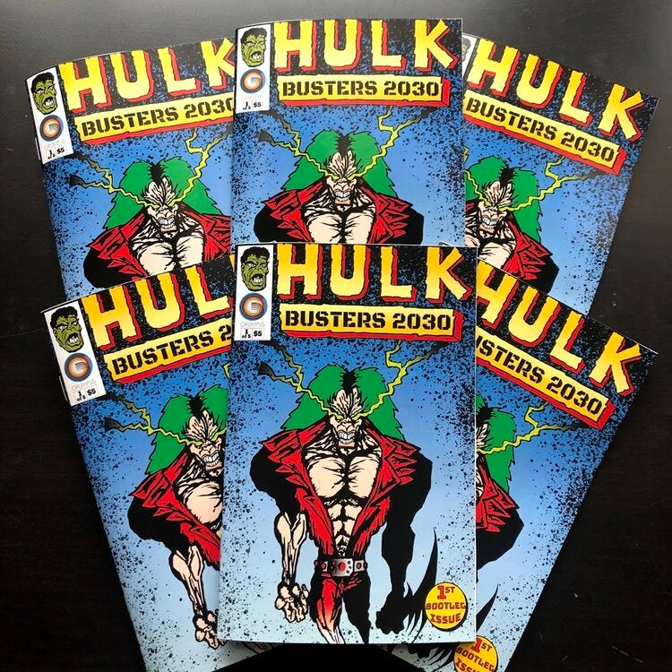 Image of Hulkbusters 2030 # 1 by Corey & Noelle Corcoran