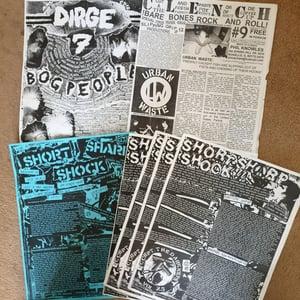 Image of VARIOUS FANZINES: Old, new ATD/Flipside/Dirge/Punchline etc