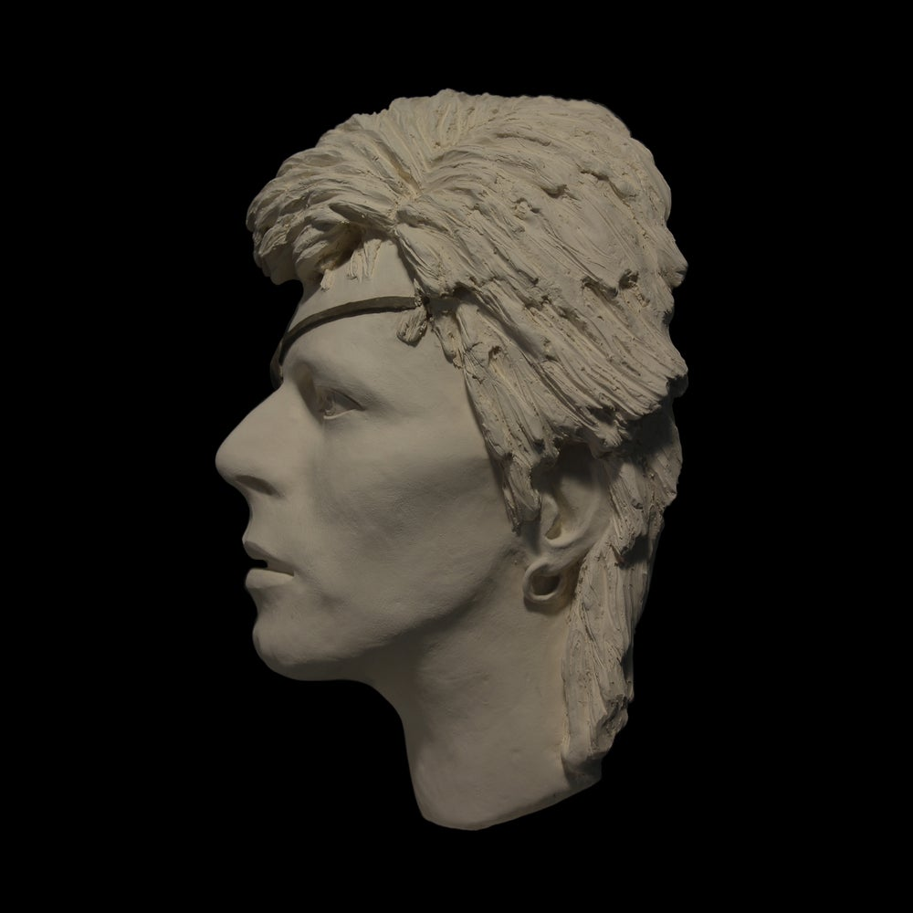 Halloween Jack White Clay (Face Sculpture)