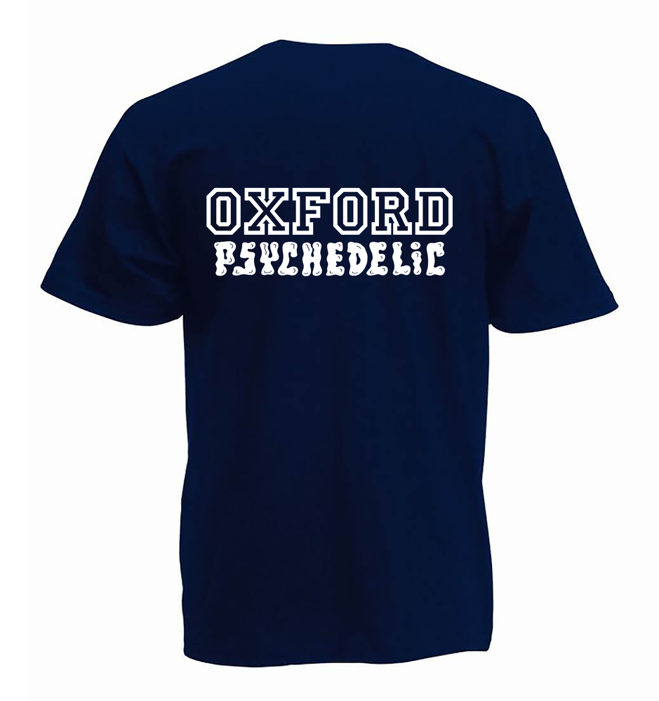 Image of Pre-order varsity unisex classic jersey t-shirt navy (certified organic cotton by Earth Positive)