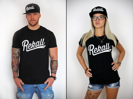 "Image of T-Shirt ""Rekall Basic"" (Black)"