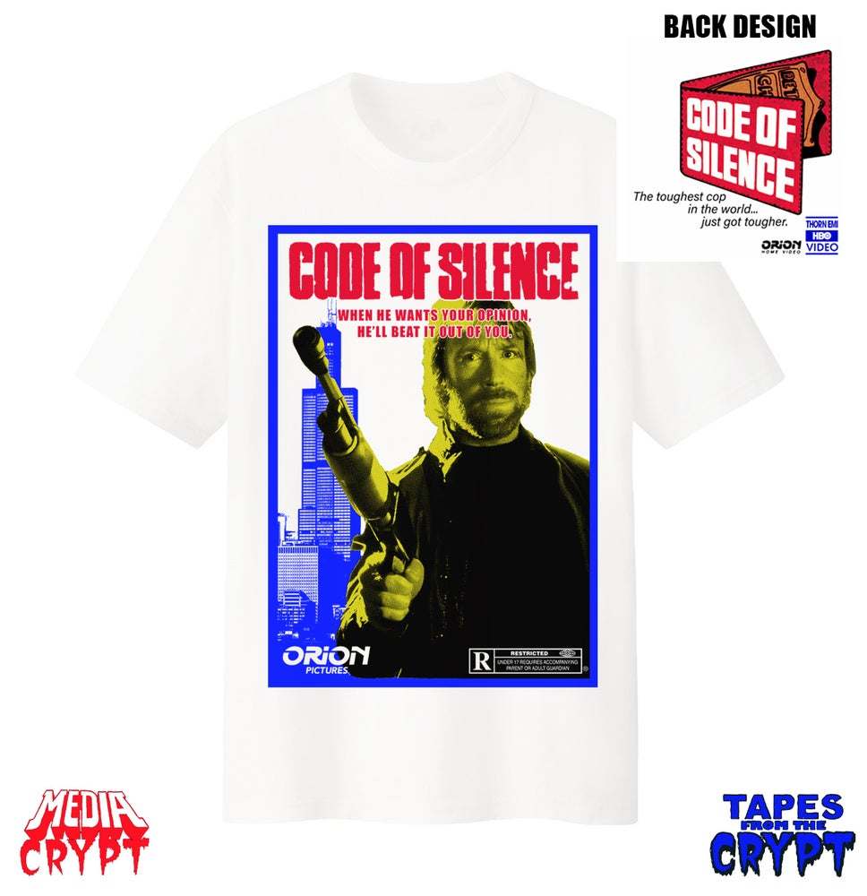 Image of Code of Silence T-shirt Pre-Order