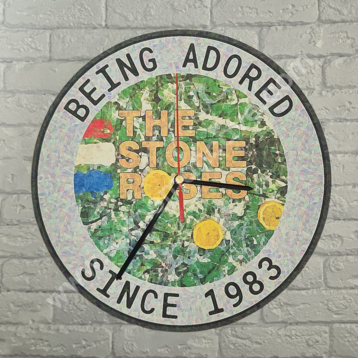 Image of STONE ROSES - BEING ADORED SINCE 1983 CLOCK