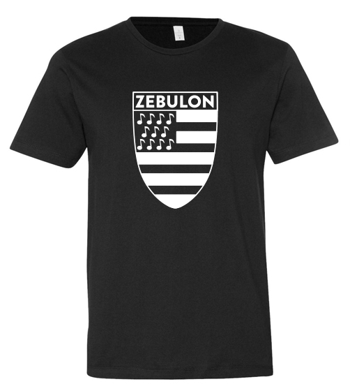 Zebulon Large Logo Black Shirt!