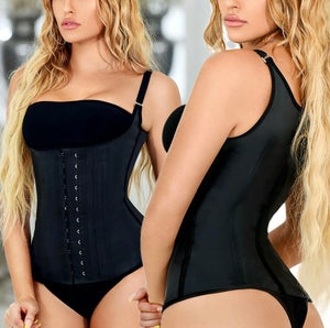 Image of WAIST TRAINING VEST-BLACK