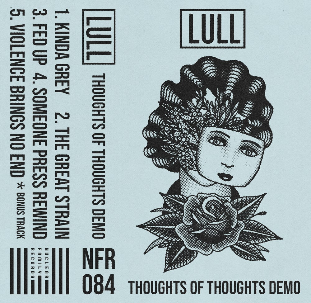 """Image of NFR084 - Lull """"Thoughts of Thoughts Demo"""" Cassette"""
