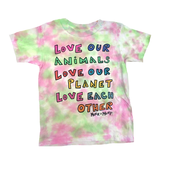 """Image of LOVE OUR WORLD - """"WATERMELON WATERCOLOR"""" (SIZE 4T)"""