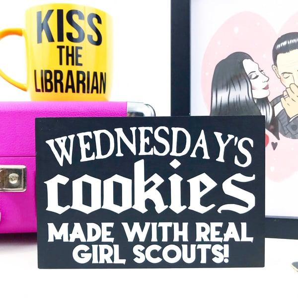 Image of Wednesday Freestanding Sign