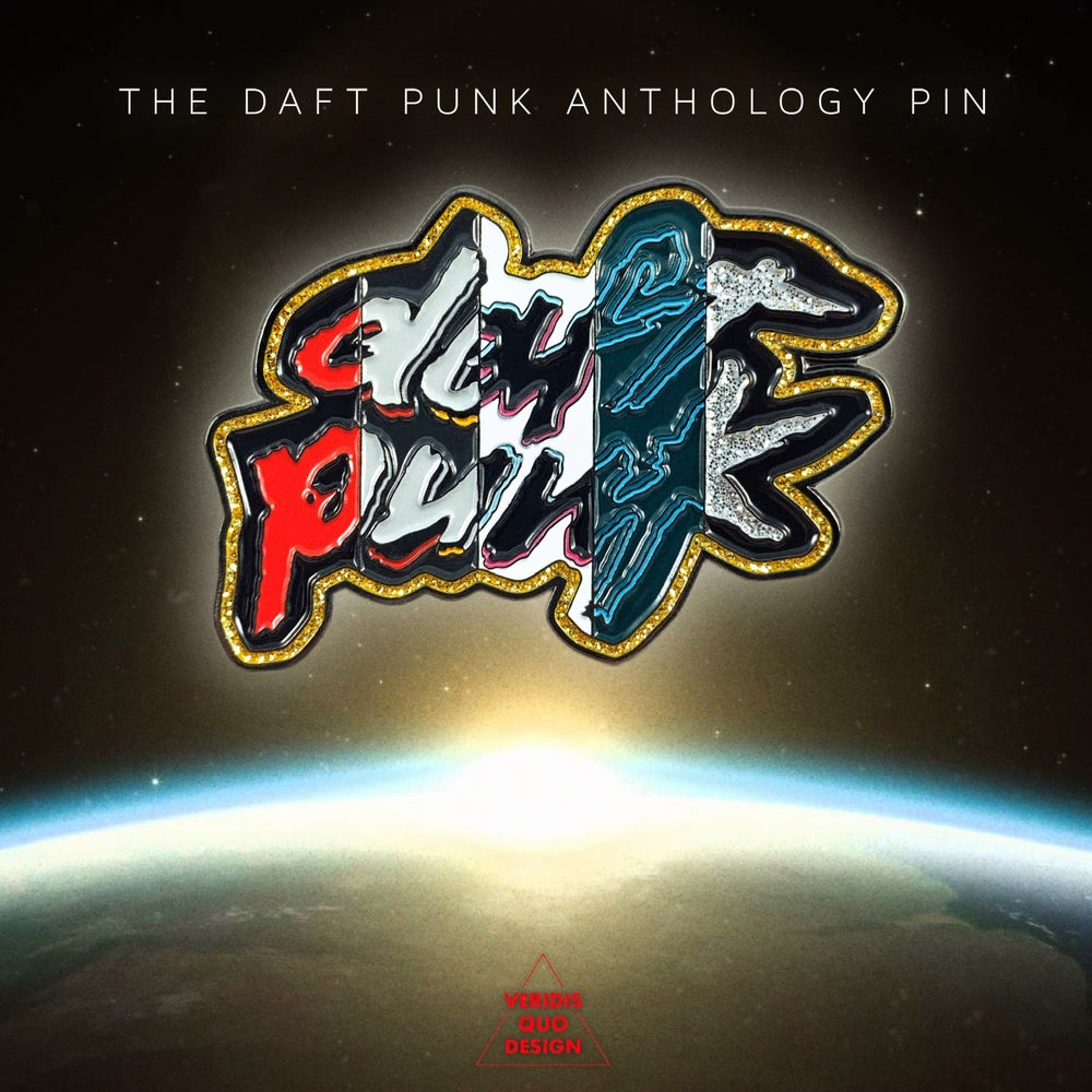 Image of The Daft Punk Anthology Pin