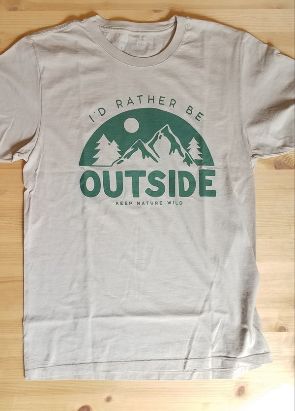 Image of I'd Rather Be Outside Tee