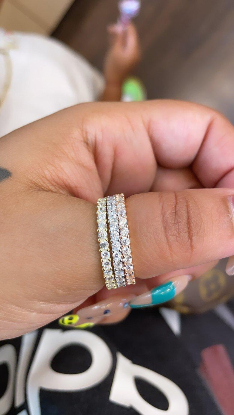 Image of Diamond thumb bands