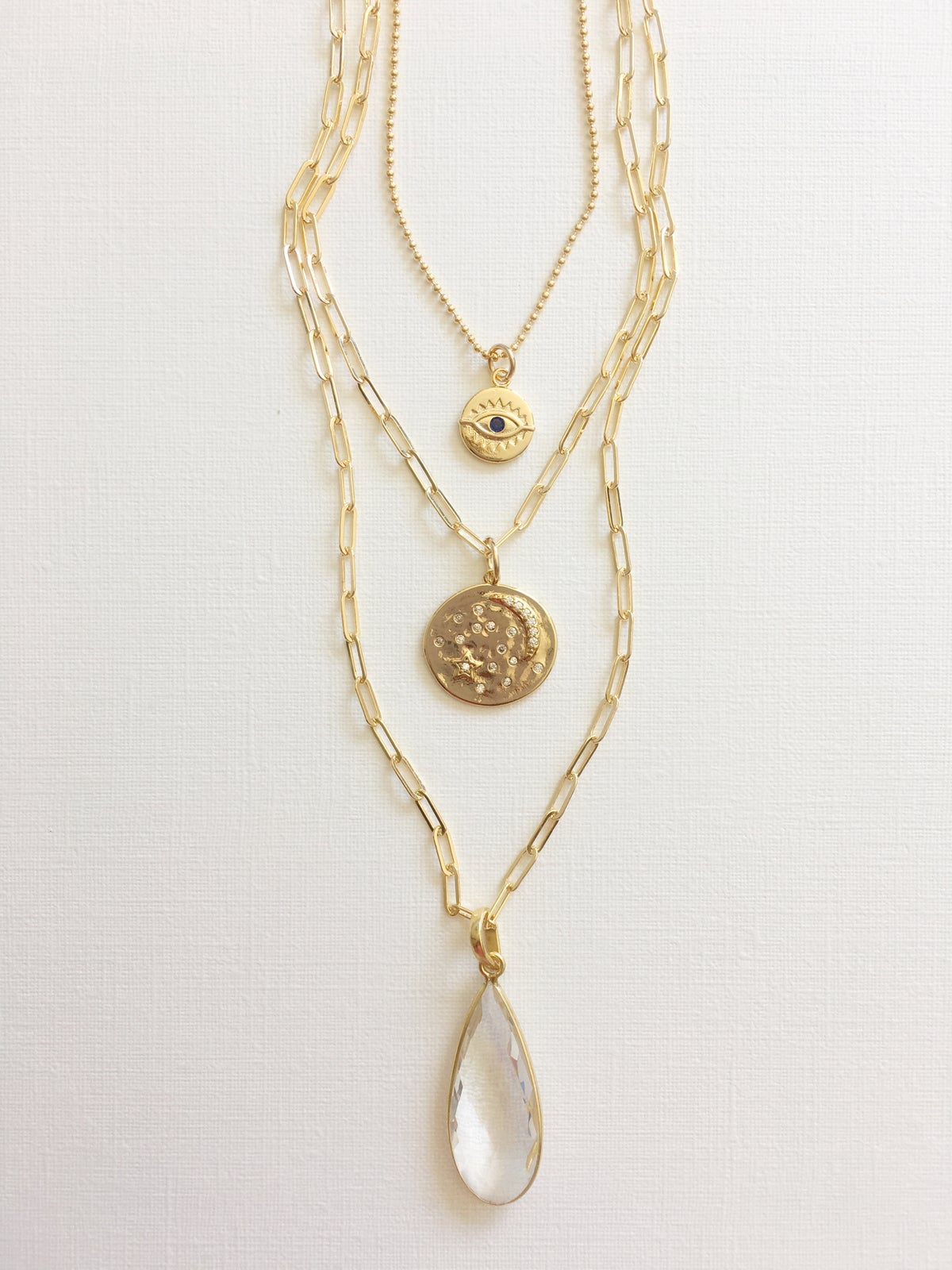 TenThings. CLEAR INTENTION. Necklace. N-CIPC