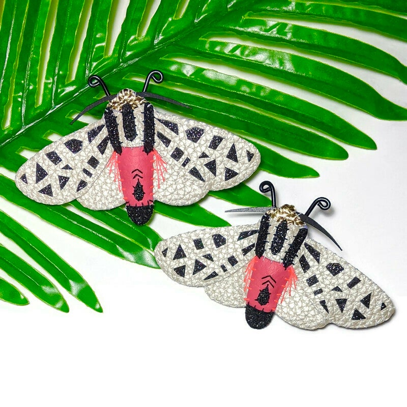 Image of Mexican Tiger Moth Brooch