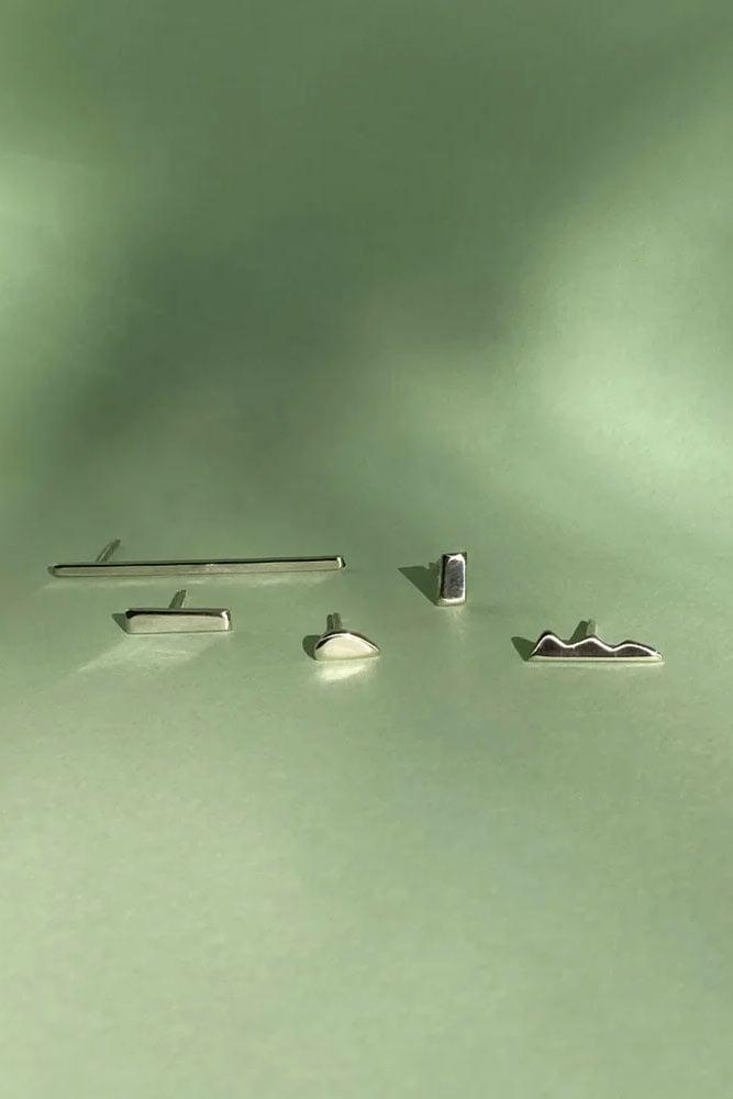 Image of Shape Stud Earrings