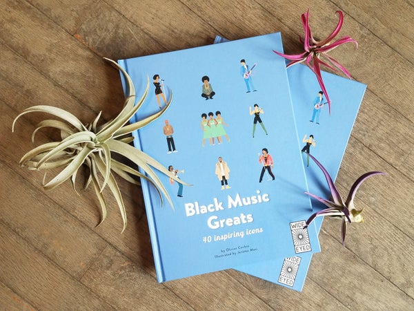 Image of Black Music Greats Book