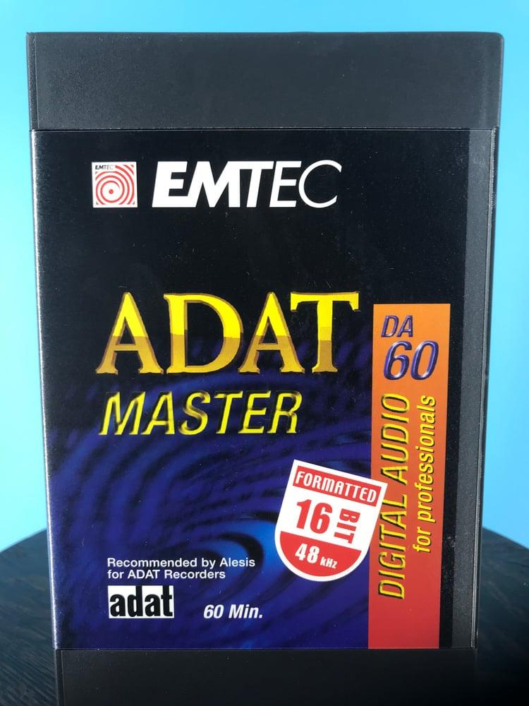 Image of Emtec ADAT6016BIT - ADAT 60 Minute 16 BIT Formatted Extended Length Digital Audio Tape *Single