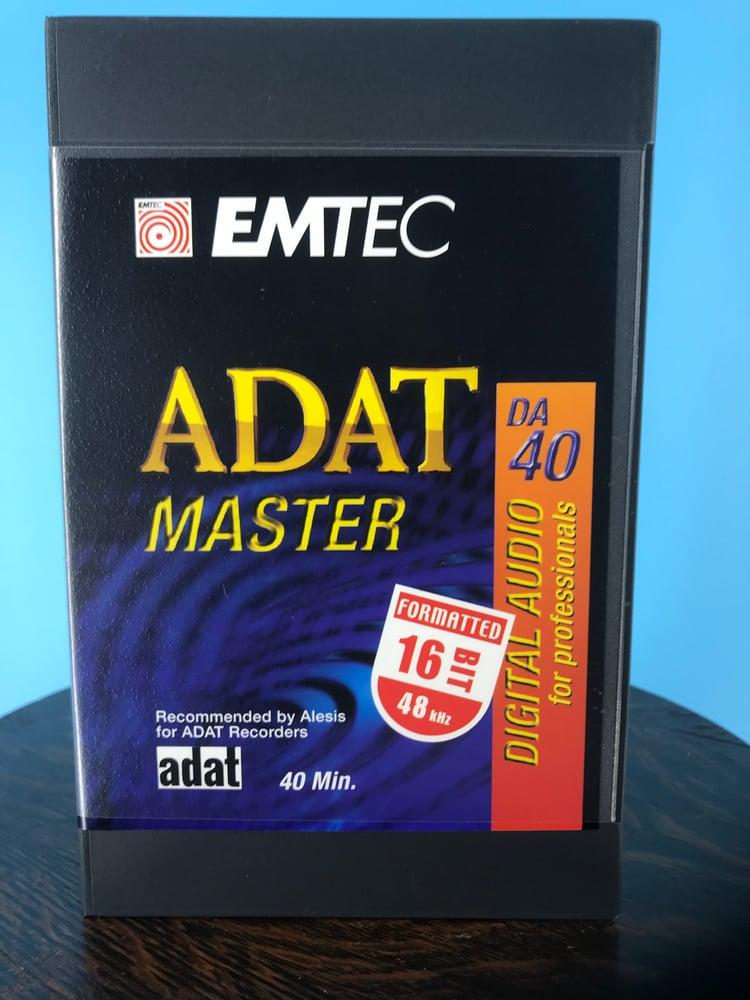 Image of Emtec ADAT4016BIT - ADAT 40 Minute 16 BIT Formatted Digital Audio Tape *3 Pack