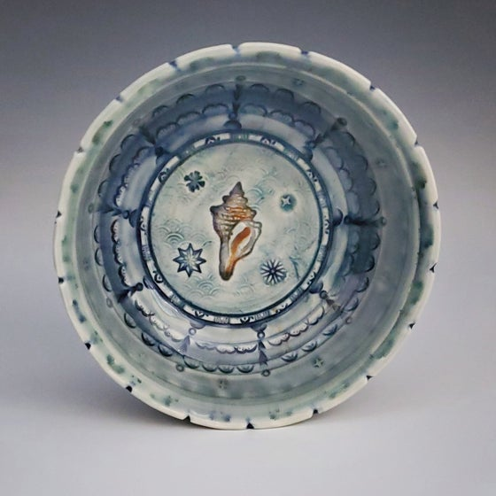 Image of Shell Porcelain Dish