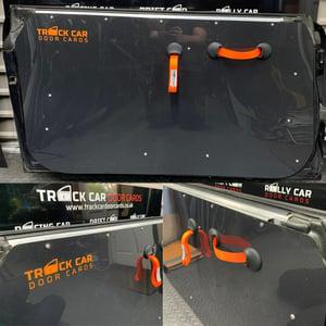 Image of Mini R56 Material handle - Track Car Door Cards