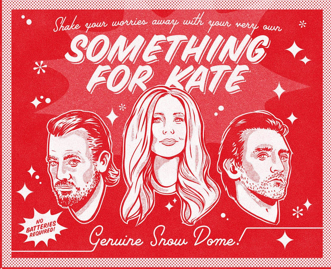 Image of Something for Kate snowdome  - very limited collectors item