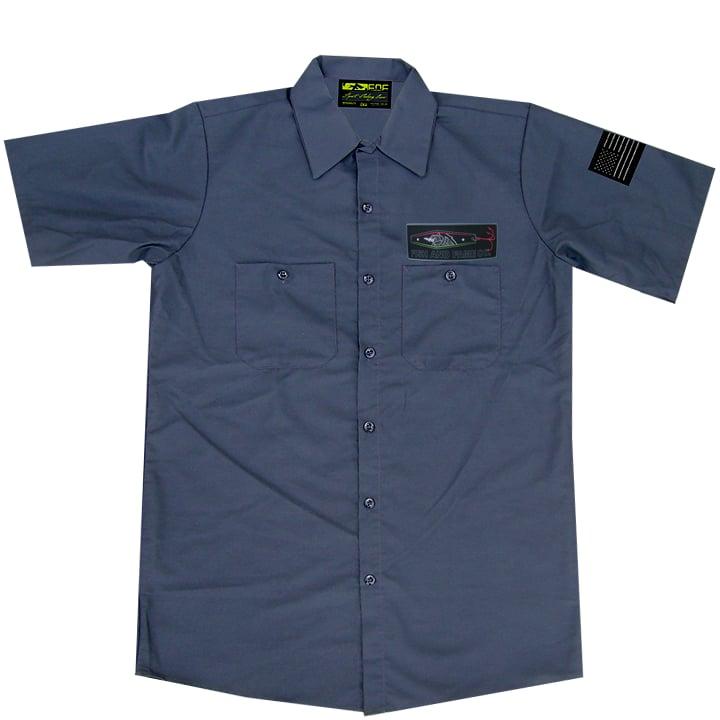 Image of NB-JIG Crew Shirt (gun metal)