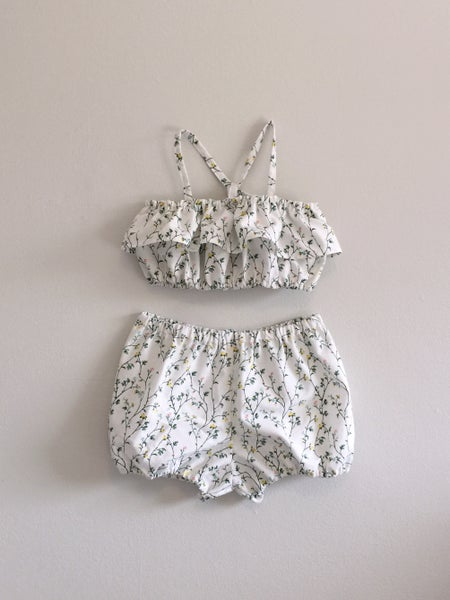 Image of Rosebud Sunsuit - 12/24m