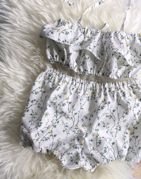 Image of Rosebud Sunsuit - 2/3T