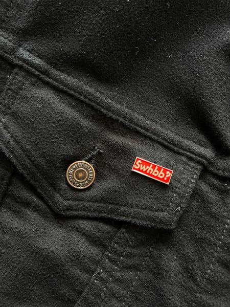 Image of SWHBB? Box logo Enamel Pin