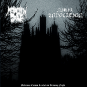 """Image of Megalith Grave / Nihil Invocation – Malicious Curses Reached in Drowning Night 12"""" LP"""