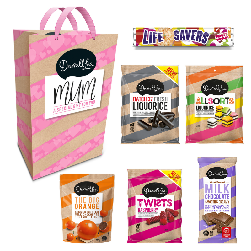 Image of Darrell Lea Mothers Day Gift Bag