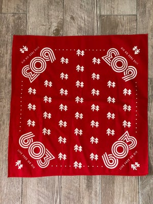 Image of Red 603 Bandana