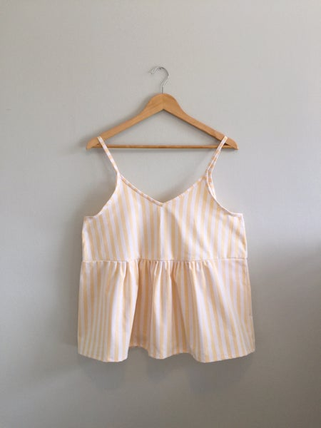 Image of WOMEN Sunflower Stripe Tank - m/l