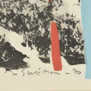 Image of 1970, Swedish Lithograph, BO SWENSSON