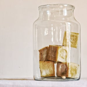 """Grand vase en verre recyclé 34 cm modèle """"Laurel"""""""